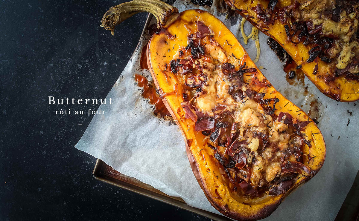 Courge Butternut Rotie Au Four Epices Malices